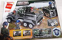 Конструктор Qman Combat Zones 1727 Военный грузовик, фото 1