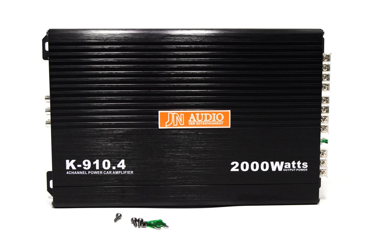 Автомобильный усилитель звука JN AUDIO K-910.4 2000W 4-х канальный