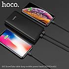 УМБ портативний зарядний Power Bank HOCO J60 30000 mAh, чорне, фото 4