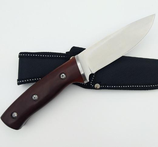 Охотничий разделочный нож Buck Vanguard. Нож тактический нескладной.