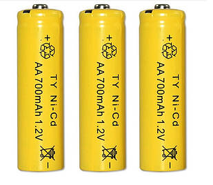 Акумулятор AA 1.2 V 700 mAh Ni-Cd
