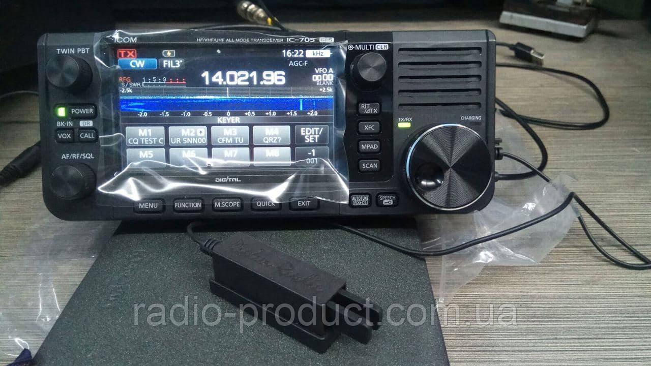 Icom IC-705 КВ+УКВ трансивер, радиостанция, аналог + D-Star