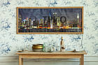 Обігрівач-картина інфрачервоний настінний ТРІО 600W 150 х 60 см, Нью-Йорк, фото 2