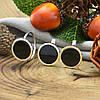 Серебряный набор с золотом Загадка кольцо размер 18.5+ серьги 14х14 мм вставка оникс, фото 3