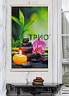 Обігрівач-картина інфрачервоний настінний ТРІО 400W 100 х 57 см, гармонія, фото 2