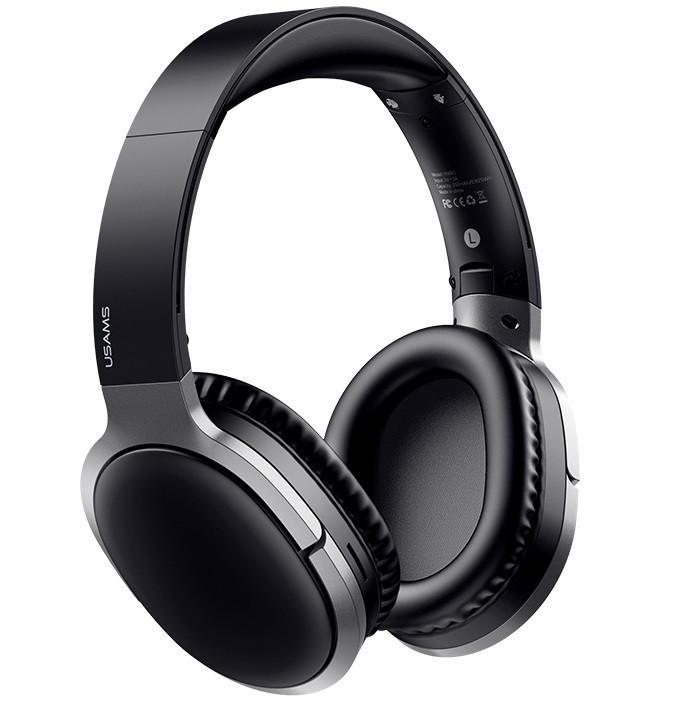 Наушники беспроводные Bluetooth USAMS YN Series US-YN001, черные