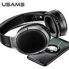 Наушники беспроводные Bluetooth USAMS YN Series US-YN001, черные, фото 4