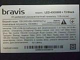 Плати від LЕD ТЕЛЕВІЗОР Bravis LED-43G5000+T2 Black по блоках (матриця розбита)., фото 2