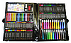 Набор для рисования и творчества в чемоданчике Super Mega Art Set 228 предметов | Набор юного художника, фото 4