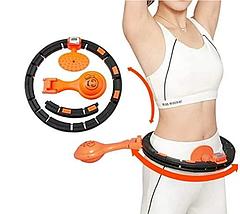 Умный массажный обруч Intelligent Hula Hoop для похудения   Обруч с массажными роликами, фото 2