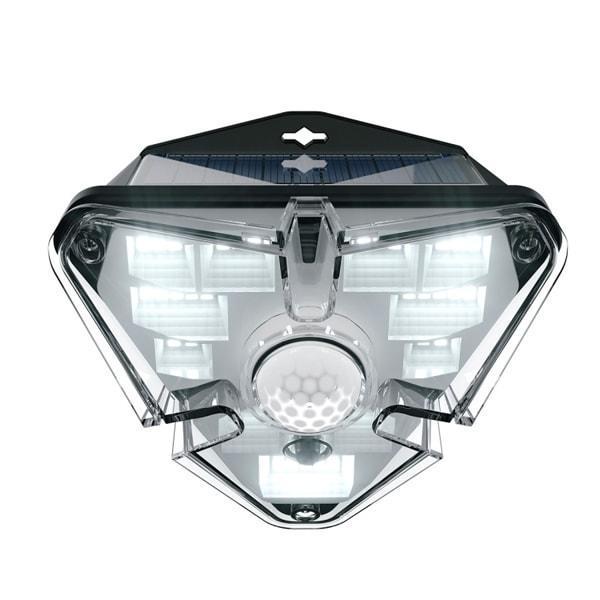 Лампа вулична на сонячній батареї з датчиком руху Baseus DGNEN-A01, чорна