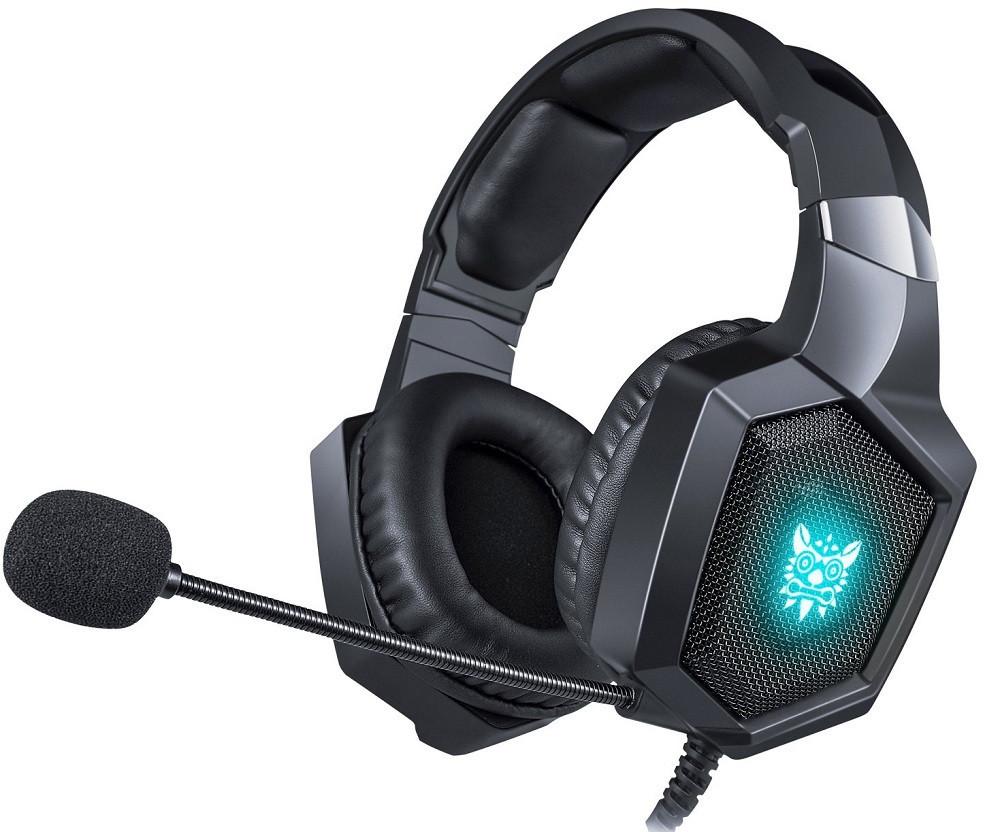 Навушники ігрові ONIKUMA Gaming LED K8, чорні