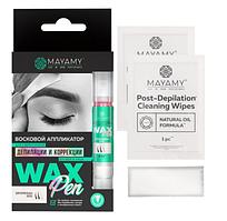 Innovator Cosmetics Аппликатор восковой Mayamy Normal для депиляции бровей и лица, 4 мл