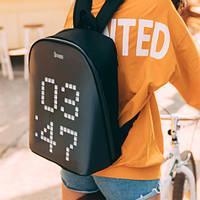 Рюкзак Divoom Pixoo с пиксельным дисплеем, 17 л, черный