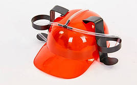 Алко каска с подставкой под банки Drinking Hat (US00291)