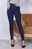 Женские приталенные джинсы на меху, фото 1