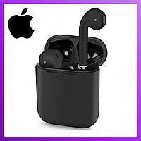 Беспроводные Bluetooth наушники i120 - tws 5.0 Black Edition с микрофоном, Беспроводная гарнитура