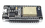 Модуль ESP32 WiFi Bluetooth WROOM-32 DevKit V1 CP2102 распаянная, фото 4