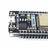 Модуль ESP32 WiFi Bluetooth WROOM-32 DevKit V1 CP2102 распаянная, фото 2