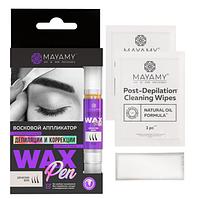 Innovator Cosmetics Аппликатор восковой Mayamy Strong для депиляции бровей и лица, 4 мл