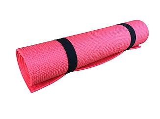 Коврик для фитнеса и спорта  Naprolom М, красный