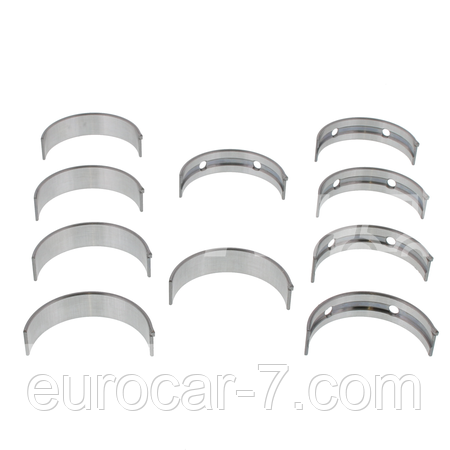 Вкладыши коренные (Std, 0.25, 0.50, 1.00) для двигателя Nissan J15