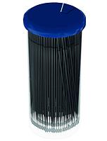 Innovator Cosmetics Микрощеточки безворсовые, 2 мм, Черные (L), 100 шт