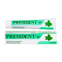 Паста зубная детская PresiDENT 12+ Toothpaste Mint 50 мл, арт.701907