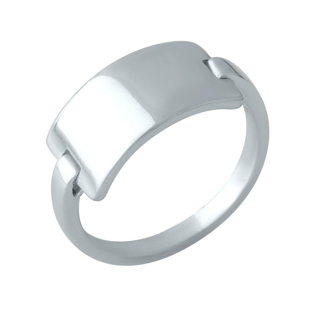 Серебряное кольцо GS без камней (2000242) 16.5 размер