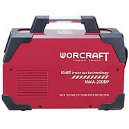 Сварочный инверторный аппарат Worcraft MMA-200DP, фото 2