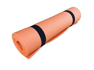 Коврик для фитнеса и спорта  Naprolom М, оранжевый