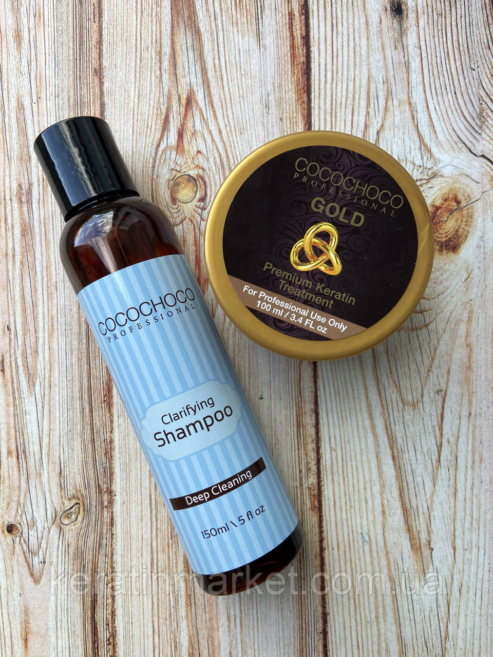 Набор Cocochoco Gold 100 мл + 150 шампуня