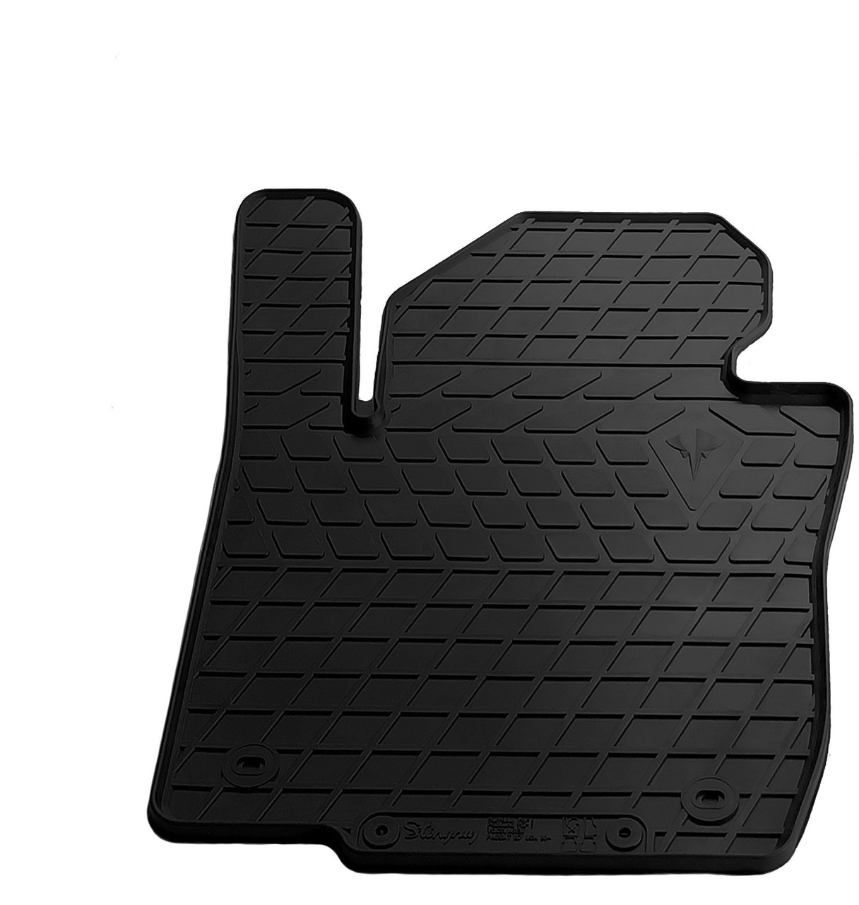 Водительский резиновый коврик для Volkswagen Passat B8 (NMS II) (USA) 2018- Stingray