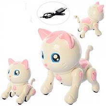 Кіт Bambi 8207-8208 Білий-рожевий (KL00129)