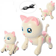 Кот Bambi 8207-8208 Белый-розовый (KL00129)