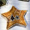 Фигурное керамическое блдо Печенье 24 см