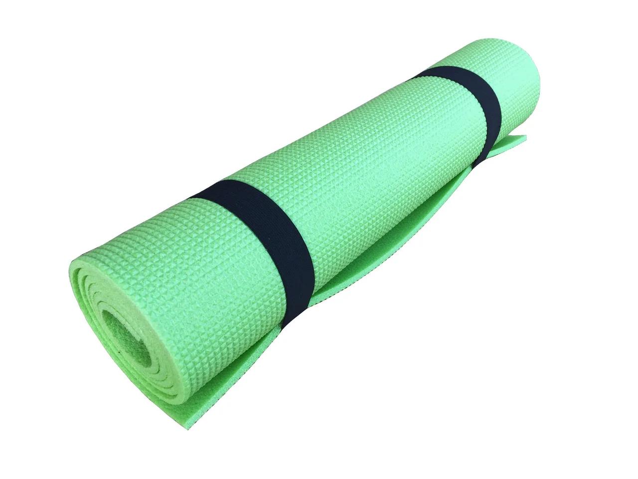 Коврик для фитнеса и спорта  Naprolom XL, зеленый