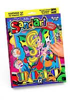 """Фреска из песка """"SandArt"""" 7652DT, Детские наборы творчества,Наборы для творчества,Наборы для творчества для"""