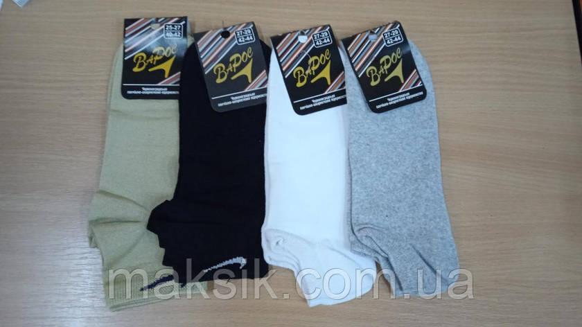 Укороенные мужские носки Варос стрейч р.27-29, фото 2
