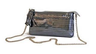Клатч женский кожаный Derby Арт: 0420458,40 серебро