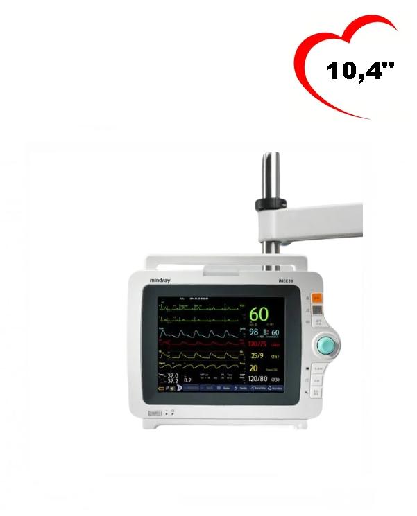 Монітор пацієнта приліжковий Mindray IMEC10, кардіологічний