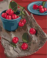 "Яркая картина раскраска по номерам ""Спелые вкусности"" 40х50 см KHO5582 живопись рисование в цифрах на холсте"