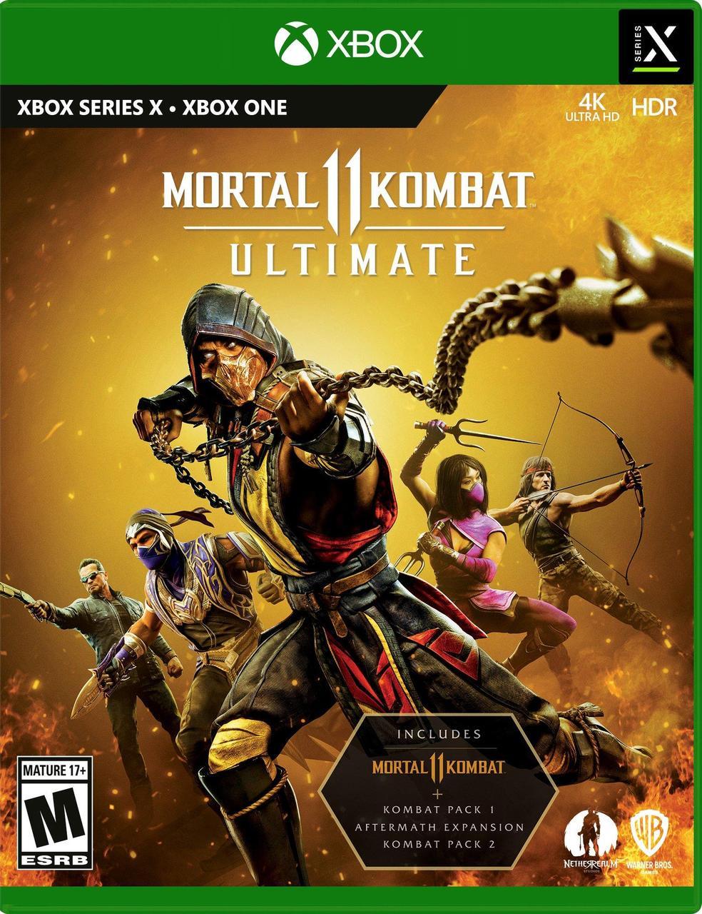 Mortal Kombat 11 Ultimate (російські субтитри) Xbox One