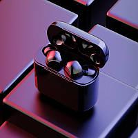 Беспроводные сенсорные bluetooth наушники A12 TWS черные