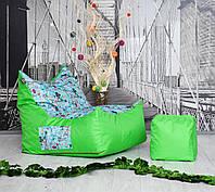 Бескаркасное кресло Вильнюс детское Принт  TIA-SPORT, фото 1