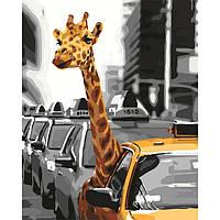 """Яркая картина раскраска по номерам """"Жизнь в мегаполисе"""" 40х50 см KHO4178 живопись рисование в цифрах на холсте"""