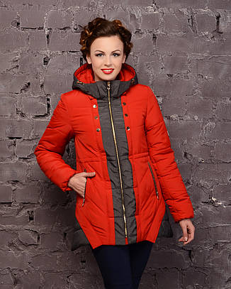 Куртка зимняя двухцветная