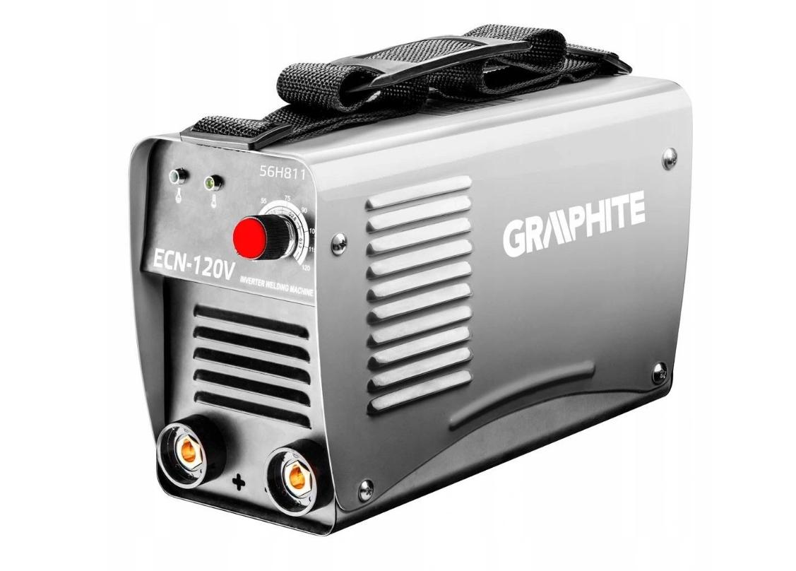Інверторний зварювальний апарат igbt 120A GRAPHITE 56H811