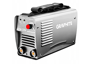Інверторний зварювальний апарат igbt 120A GRAPHITE 56H811, фото 2