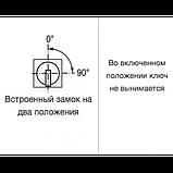 Кнопка ПЕ 182 исп.1 ключ, фото 2